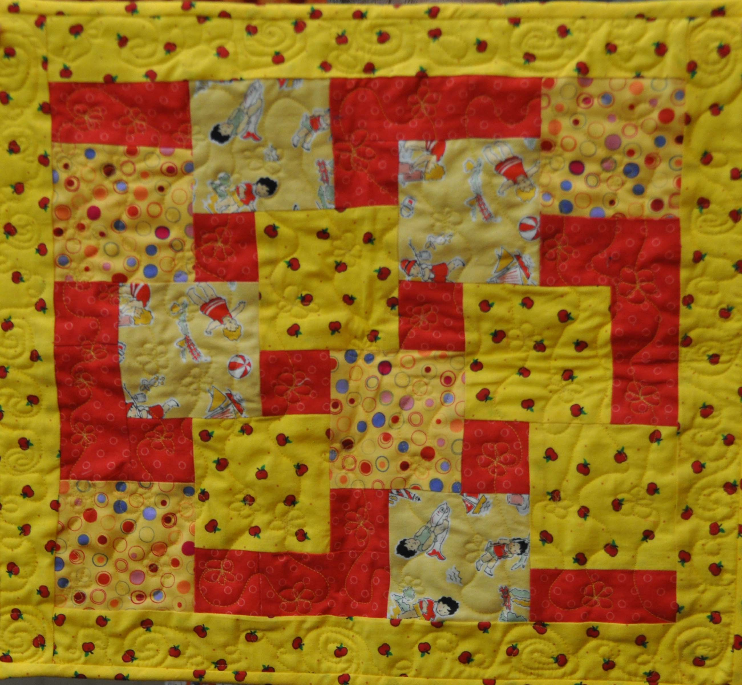 17- Jennifer Glenn - Doll Quilt